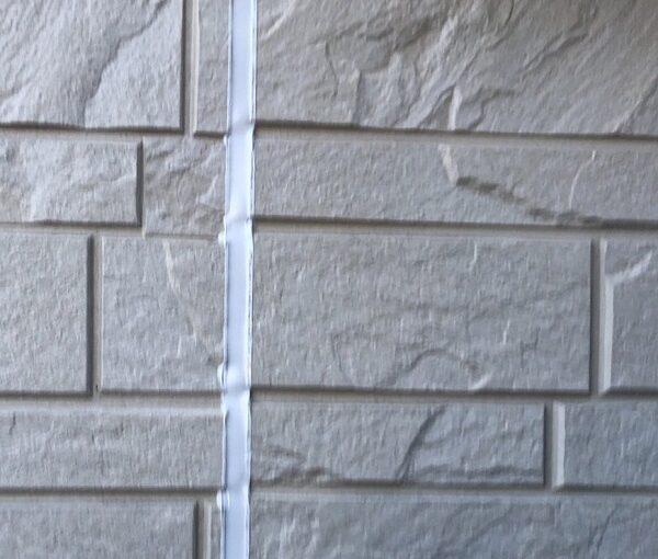埼玉県上尾市 M様邸 外壁塗装 屋根塗装 シーリング(コーキング)工事 ボードの継ぎ目 棟板金の釘の補強 (8)