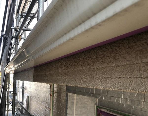埼玉県上尾市 M様邸 外壁塗装 屋根塗装 付帯部 軒天塗装 鼻隠し塗装1 (9)