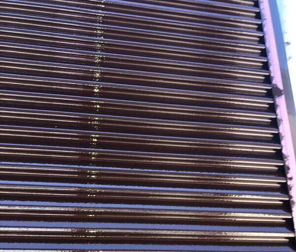 埼玉県鴻巣市 屋根塗装・屋根カバー工法・外壁塗装 シャッターボックス塗装 雨戸塗装 (2)