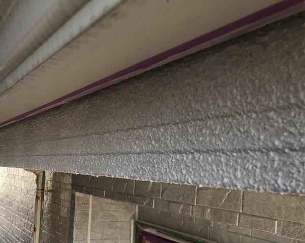 埼玉県上尾市 M様邸 外壁塗装 屋根塗装 付帯部 軒天塗装 鼻隠し塗装1 (8)