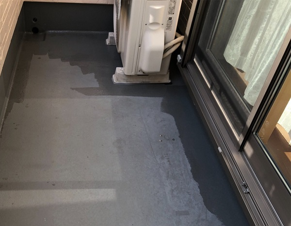 埼玉県上尾市 M様邸 外壁塗装 屋根塗装 ベランダ 防水工事 トップコート塗り替え  (1)