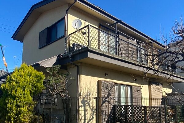 埼玉県鴻巣市 屋根塗装・屋根カバー工法・外壁塗装 施工前の状態 塗膜の剥がれ 錆び (3)