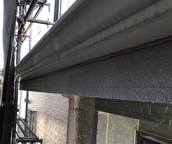 埼玉県上尾市 M様邸 外壁塗装 屋根塗装 付帯部 軒天塗装 鼻隠し塗装1 (7)