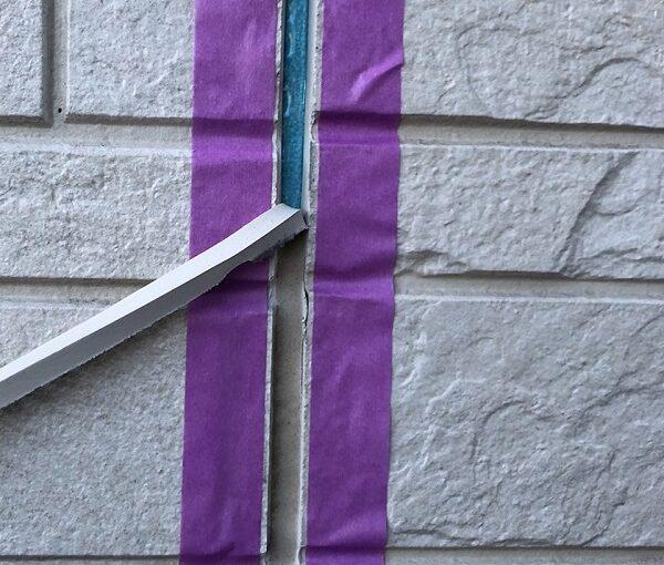 埼玉県上尾市 M様邸 外壁塗装 屋根塗装 シーリング(コーキング)工事 ボードの継ぎ目 棟板金の釘の補強 (3)