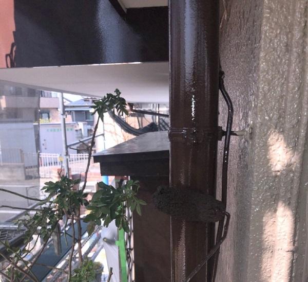 埼玉県鴻巣市 F様邸 屋根塗装・屋根カバー工法・外壁塗装 鼻隠し・破風板・雨樋塗装 (11)