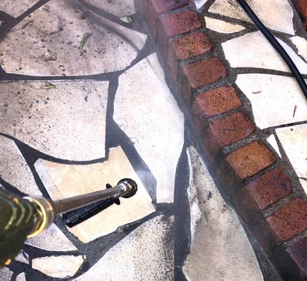 埼玉県鴻巣市 屋根塗装・屋根カバー工法・外壁塗装 下地処理 高圧洗浄 (7)
