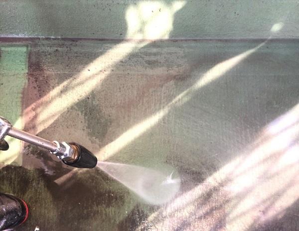 埼玉県鴻巣市 屋根塗装・屋根カバー工法・外壁塗装 下地処理 高圧洗浄 (5)