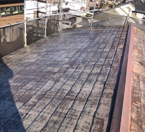 埼玉県鴻巣市 屋根塗装・屋根カバー工法・外壁塗装 下地処理 高圧洗浄 (2)