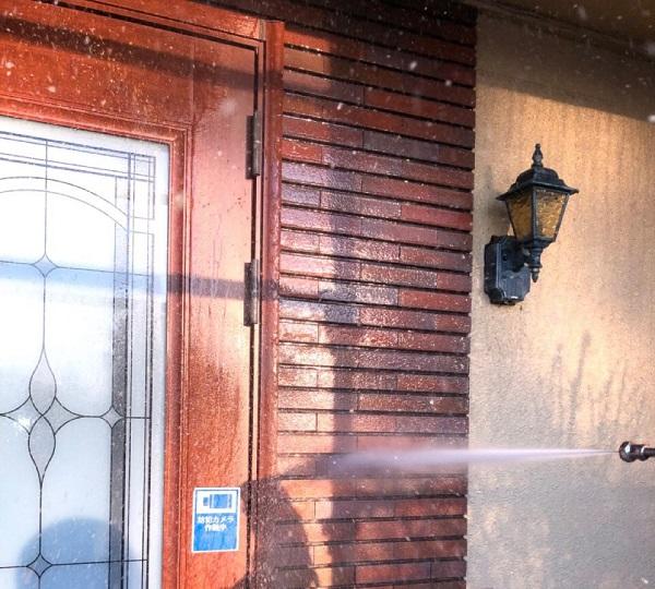 埼玉県鴻巣市 屋根塗装・屋根カバー工法・外壁塗装 下地処理 高圧洗浄 (8)