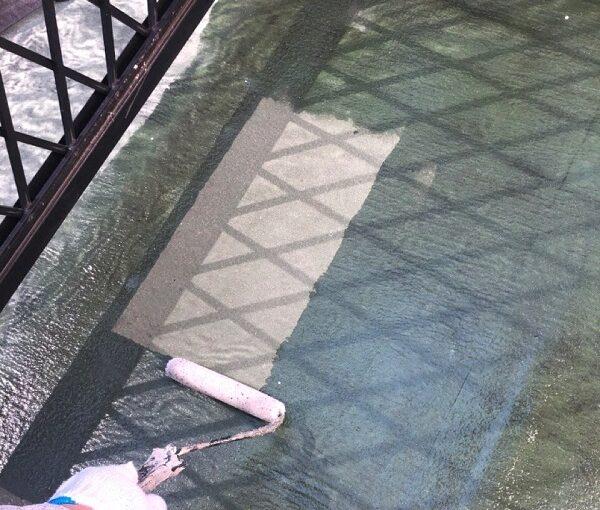 埼玉県鴻巣市 F様邸 屋根塗装・屋根カバー工法・外壁塗装 ベランダ床 防水塗料 (6)
