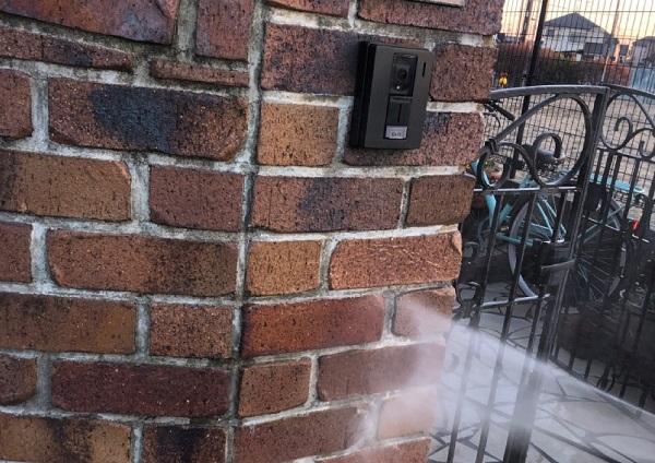 埼玉県鴻巣市 屋根塗装・屋根カバー工法・外壁塗装 下地処理 高圧洗浄 (9)