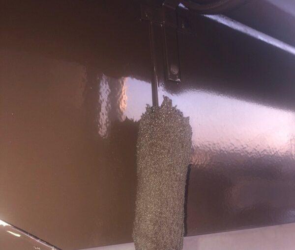 埼玉県鴻巣市 F様邸 屋根塗装・屋根カバー工法・外壁塗装 鼻隠し・破風板・雨樋塗装 (5)