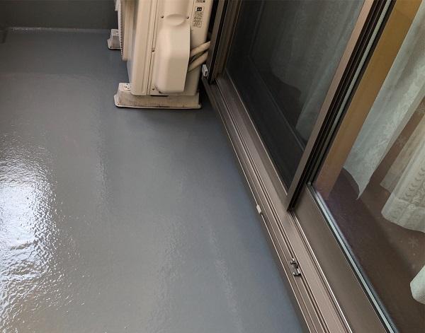 埼玉県上尾市 M様邸 外壁塗装 屋根塗装 ベランダ 防水工事 トップコート塗り替え  (2)