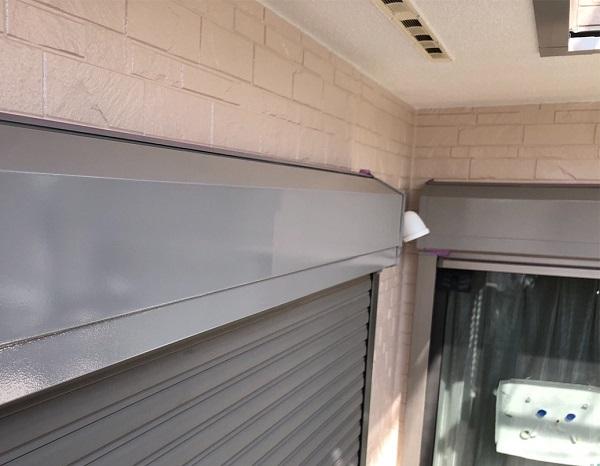埼玉県上尾市 M様邸 外壁塗装 屋根塗装 付帯部塗装 雨樋・シャッターボックス・水切り 鉄部の塗装 (6)