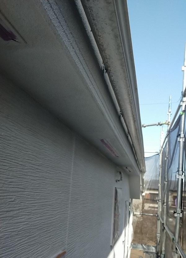 埼玉県久喜市 H様邸 屋根塗装・外壁塗装・付帯部塗装 鼻隠し、軒天の塗装 それぞれの役割とは (4)