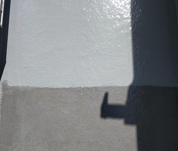 埼玉県久喜市 H様邸 屋根塗装・外壁塗装・付帯部塗装 ベランダ防水 トップコート塗装 (4)