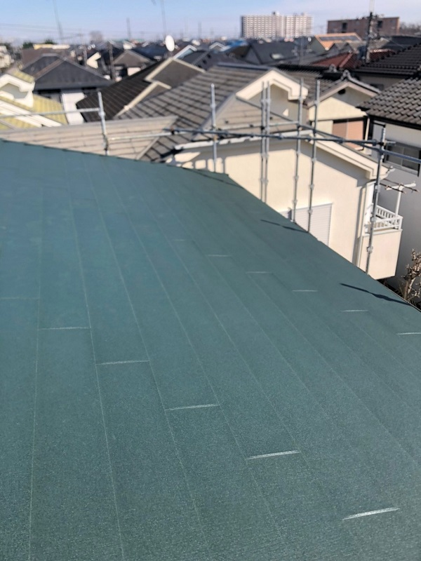 埼玉県鴻巣市 F様邸 屋根塗装・屋根葺き替え工事・外壁塗装3 (2)