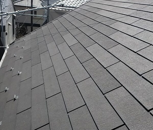 埼玉県久喜市 H様邸 屋根塗装・外壁塗装・付帯部塗装 屋根補修 日本ペイント 遮熱塗料 サーモアイSi (5)