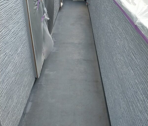 埼玉県久喜市 H様邸 屋根塗装・外壁塗装・付帯部塗装 ベランダ防水 トップコート塗装 (3)
