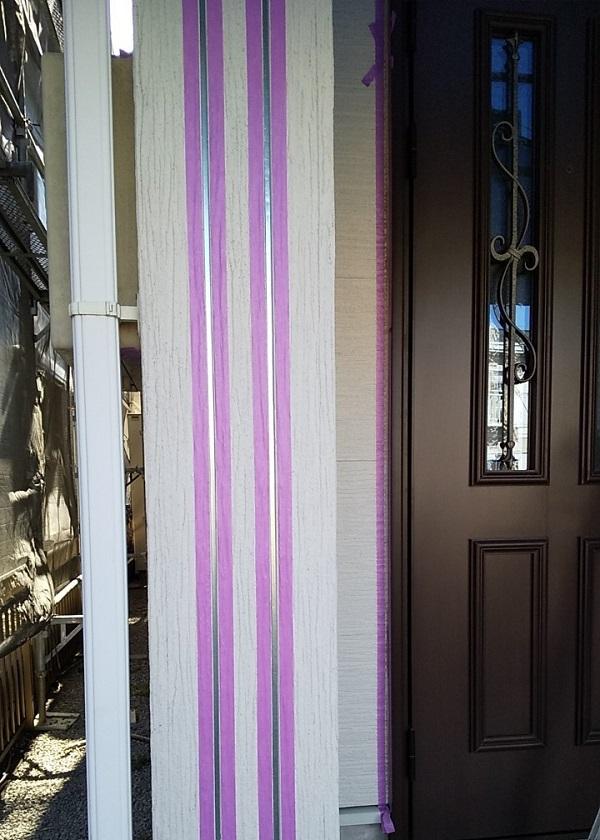 埼玉県久喜市 H様邸 屋根塗装・外壁塗装・付帯部塗装 シーリング打ち替え工事 写真付き工程 (7)