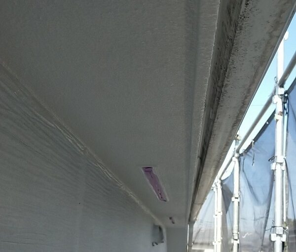 埼玉県久喜市 H様邸 屋根塗装・外壁塗装・付帯部塗装 鼻隠し、軒天の塗装 それぞれの役割とは (5)
