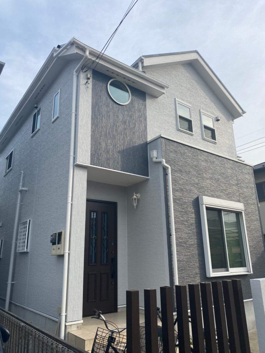 埼玉県久喜市 H様邸 屋根塗装・外壁塗装・付帯部塗装 (2)