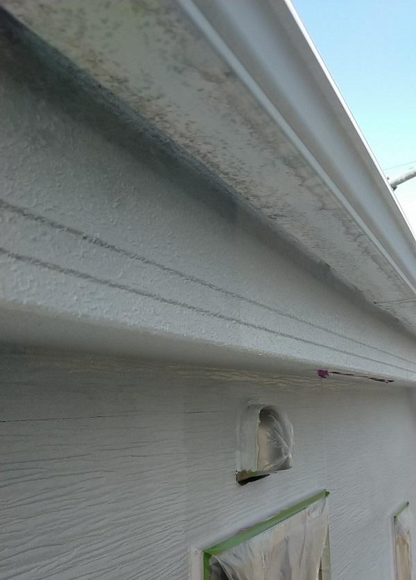埼玉県久喜市 H様邸 屋根塗装・外壁塗装・付帯部塗装 鼻隠し、軒天の塗装 それぞれの役割とは (6)