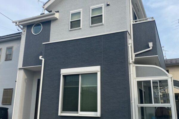 埼玉県久喜市 H様邸 屋根塗装・外壁塗装・付帯部塗装 (1)