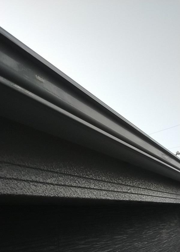 埼玉県久喜市 H様邸 屋根塗装・外壁塗装・付帯部塗装 水切り、雨樋塗装 (10)