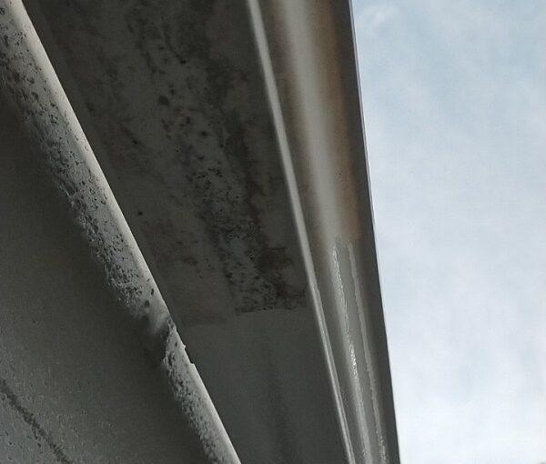 埼玉県久喜市 H様邸 屋根塗装・外壁塗装・付帯部塗装 水切り、雨樋塗装 (3)