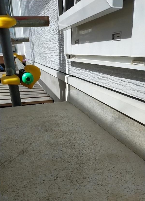 埼玉県久喜市 H様邸 屋根塗装・外壁塗装・付帯部塗装 水切り、雨樋塗装 (8)