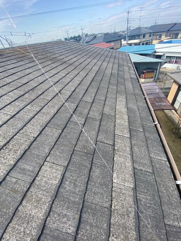 茨城県古河市 T様邸 屋根工事 無料現場調査・お見積り依頼 コロニアル屋根 (4)