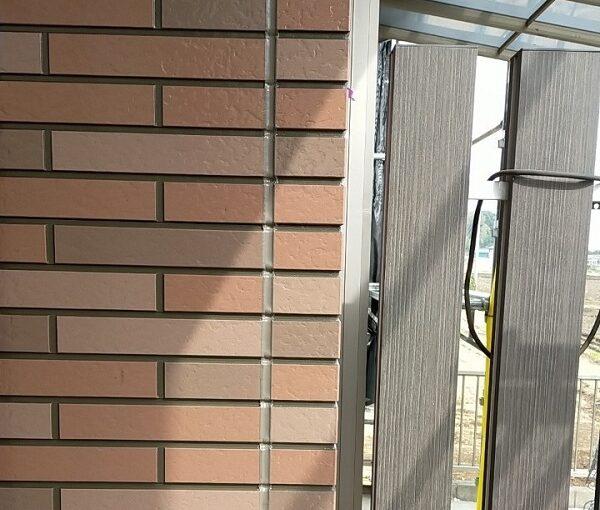 茨城県古河市 Y様邸 外壁塗装・付帯部塗装 劣化補修 ひび割れ、シーリング工事 (1)