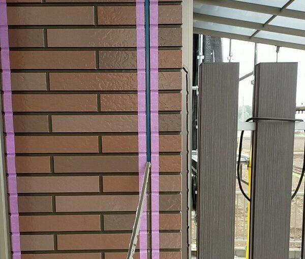 茨城県古河市 Y様邸 外壁塗装・付帯部塗装 劣化補修 ひび割れ、シーリング工事 (10)
