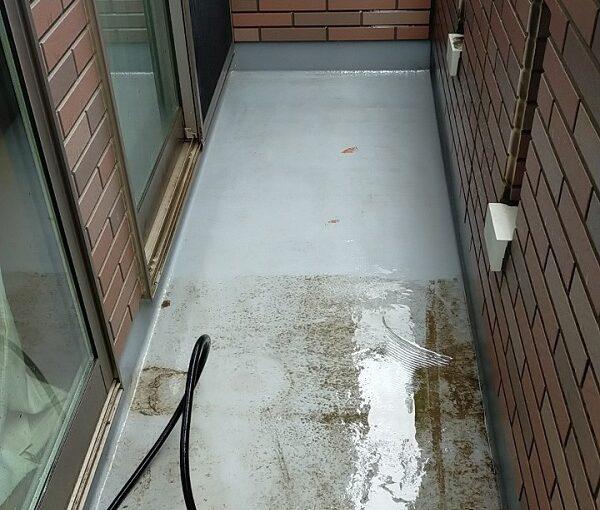 茨城県古河市 Y様邸 外壁塗装・付帯部塗装 下地処理 高圧洗浄 (4)