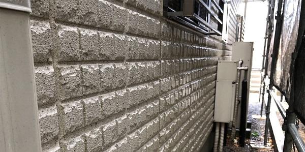 埼玉県さいたま市岩槻区 I様邸 外壁塗装・付帯部塗装・防水工事 下地処理 高圧洗浄 (8)