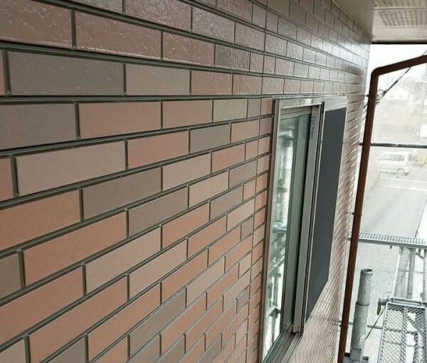 茨城県古河市 Y様邸 外壁塗装・付帯部塗装 下地処理 高圧洗浄 (1)