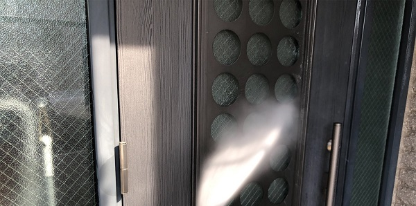 埼玉県さいたま市岩槻区 I様邸 外壁塗装・付帯部塗装・防水工事 下地処理 高圧洗浄 (7)