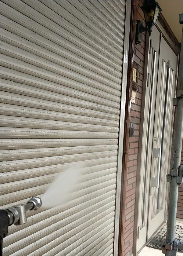 茨城県古河市 Y様邸 外壁塗装・付帯部塗装 下地処理 高圧洗浄 (9)