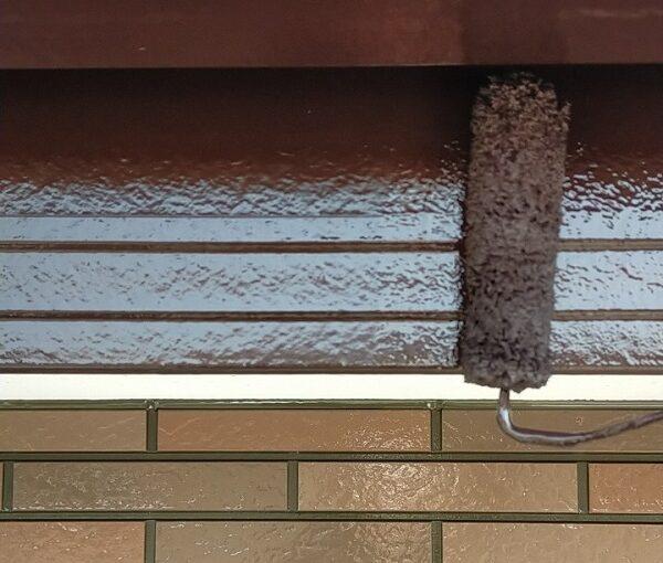 茨城県古河市 Y様邸 外壁塗装・付帯部塗装 破風、雨樋塗装 塗膜の劣化を放置すると (6)