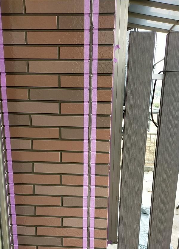 茨城県古河市 Y様邸 外壁塗装・付帯部塗装 劣化補修 ひび割れ、シーリング工事 (7)