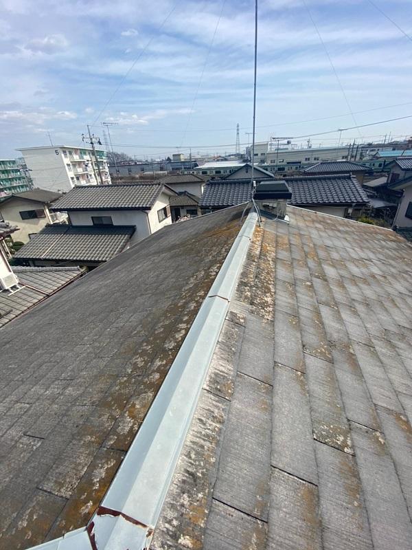 茨城県古河市 T様邸 屋根工事 無料現場調査・お見積り依頼 コロニアル屋根 (2)