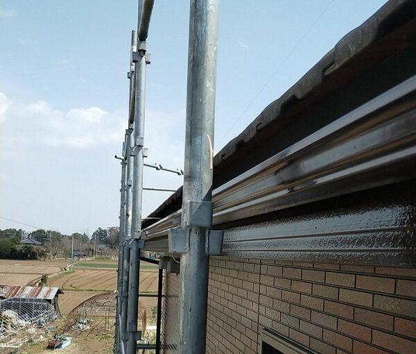 茨城県古河市 Y様邸 外壁塗装・付帯部塗装 破風、雨樋塗装 塗膜の劣化を放置すると (12)