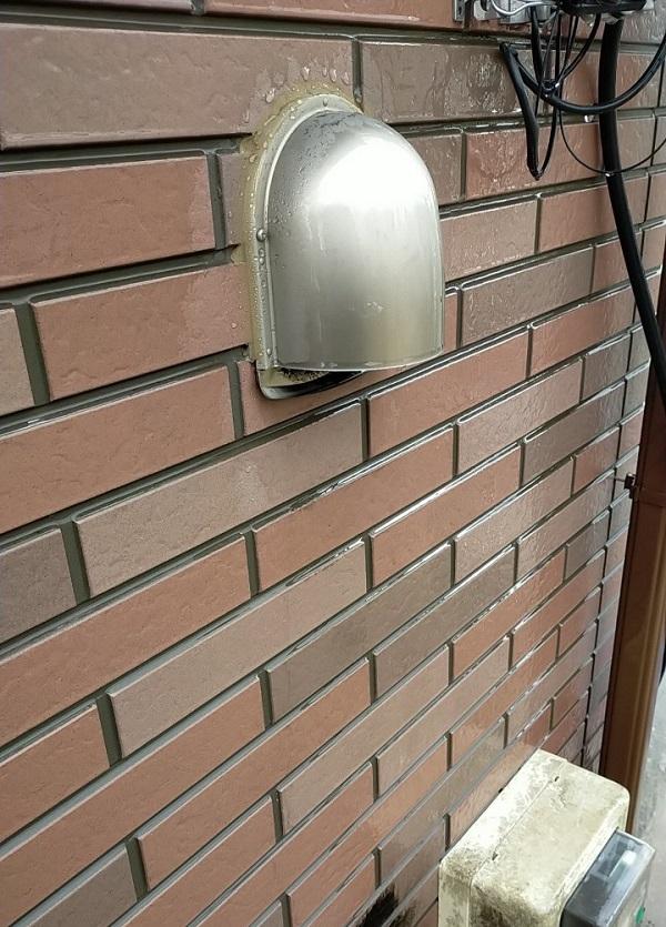 茨城県古河市 Y様邸 外壁塗装・付帯部塗装 下地処理 高圧洗浄 (8)