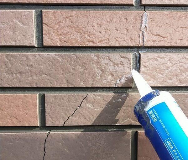 茨城県古河市 Y様邸 外壁塗装・付帯部塗装 劣化補修 ひび割れ、シーリング工事 (14)