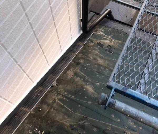 千葉県市川市 屋根葺き替え工事 屋根材撤去 工程 (5)