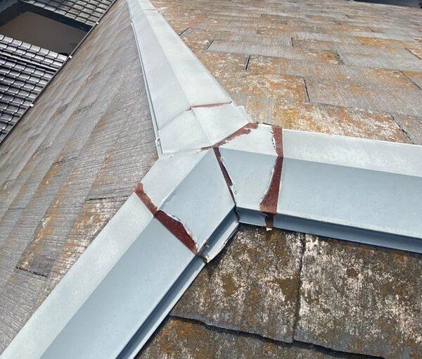 茨城県古河市 T様邸 屋根工事 無料現場調査・お見積り依頼 コロニアル屋根 (3)