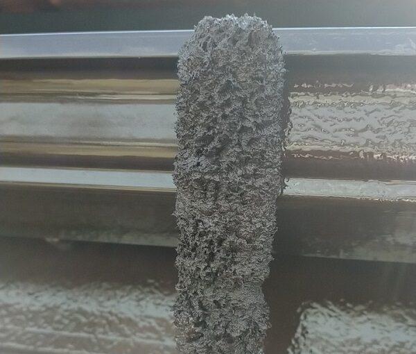 茨城県古河市 Y様邸 外壁塗装・付帯部塗装 破風、雨樋塗装 塗膜の劣化を放置すると (10)