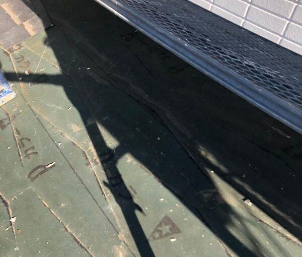 千葉県市川市 屋根葺き替え工事 屋根材撤去 工程 (9)
