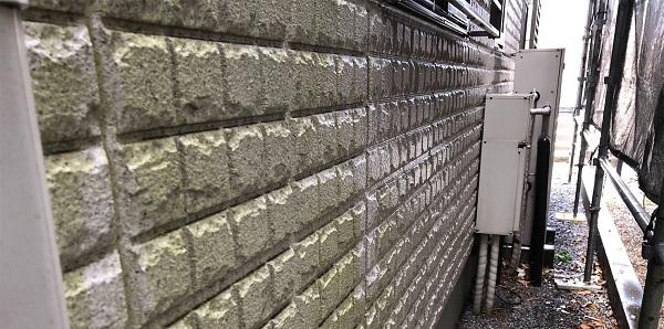 埼玉県さいたま市岩槻区 I様邸 外壁塗装・付帯部塗装・防水工事 下地処理 高圧洗浄 (10)